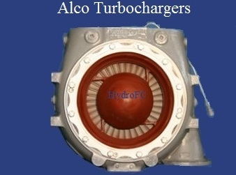Alco Turbocharger