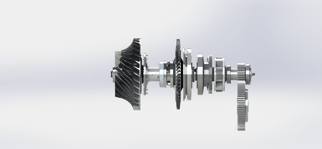 Gear Assy with Rotor